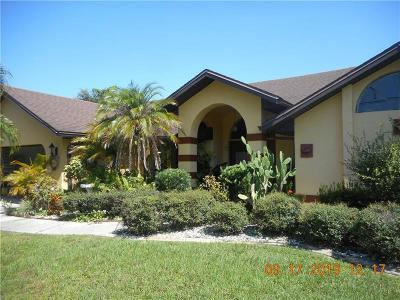 Englewood, Port Charlotte, Punta Gorda, Rotonda, Rotonda West Single Family Home For Sale: 26408 Deep Creek Boulevard