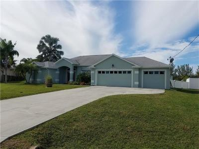 Port Charlotte Single Family Home For Sale: 10475 Monticello Drive