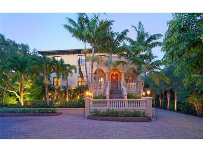 Single Family Home For Sale: 6155 Manasota Key Road