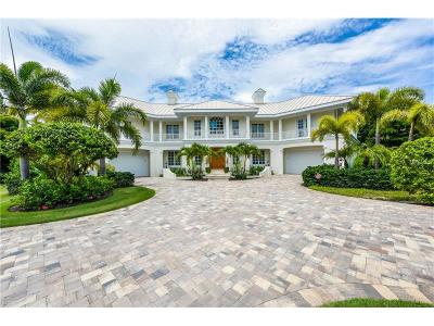Boca Grande FL Single Family Home For Sale: $4,750,000