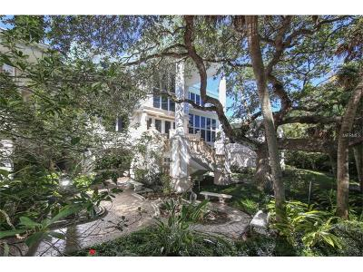 Single Family Home For Sale: 6840 Manasota Key Road