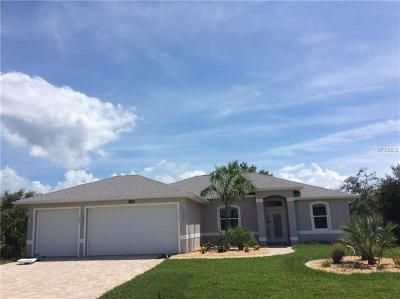 Port Charlotte Single Family Home For Sale: 8285 Agate Street