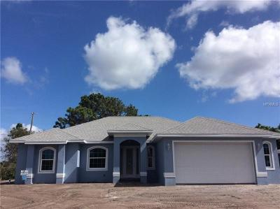 Port Charlotte Sec 93, Port Charlotte Sec 066, Port Charlotte Sec 095 Single Family Home For Sale: 1275 Inverness Street