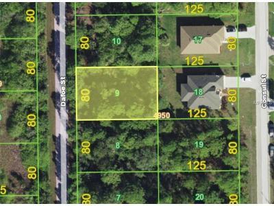 Port Charlotte Residential Lots & Land For Sale: 8208 Dafoe Street