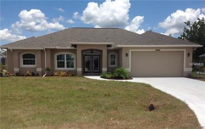 Port Charlotte Single Family Home For Sale: 9585 Calumet Boulevard