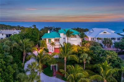 Boca Grande FL Single Family Home For Sale: $3,775,000