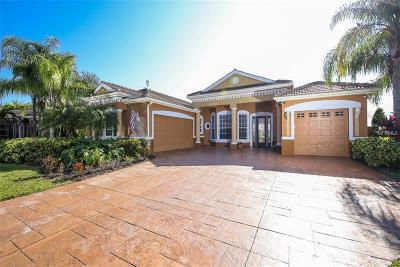 North Port Single Family Home For Sale: 3332 Bailey Palm Court