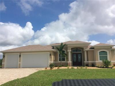 Port Charlotte Single Family Home For Sale: 15746 Applewhite Circle