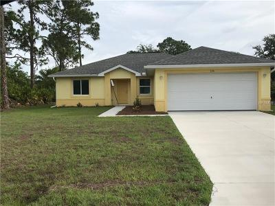 Rotonda West Single Family Home For Sale: 156 Baytree Drive