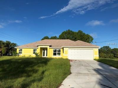 North Port Single Family Home For Sale: 1051 Banter Circle