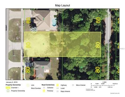 Port Charlotte Residential Lots & Land For Sale: 16882 Toledo Blade Boulevard