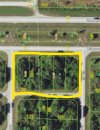 Port Charlotte Residential Lots & Land For Sale: 10010 Winborough Drive