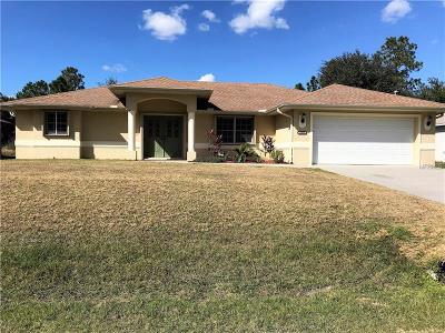 Englewood, North Port Single Family Home For Sale: 3253 Bay City Terrace