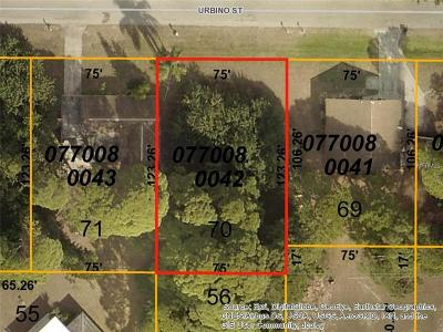 Residential Lots & Land For Sale: Urbino (Lot 70) Street