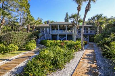 Single Family Home For Sale: 7490 Manasota Key Road