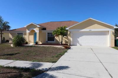 Port Charlotte Sec 93, Port Charlotte Sec 066, Port Charlotte Sec 095 Single Family Home For Sale: 13292 Buckett Circle