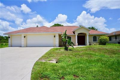 Port Charlotte Single Family Home For Sale: 15832 Hennipen Circle