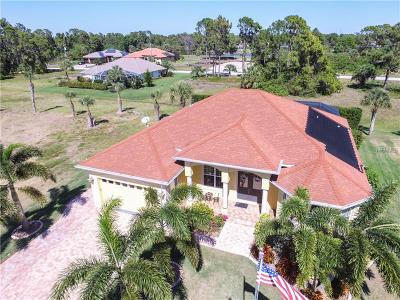 Rotonda West Single Family Home For Sale: 58 Tee View Road