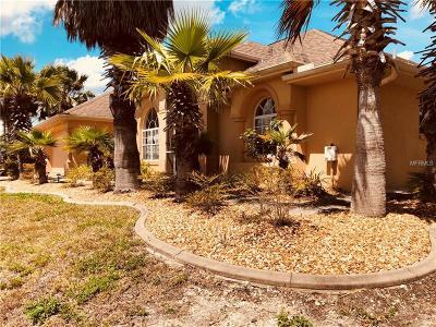 Single Family Home For Sale: 15709 Aqua Circle