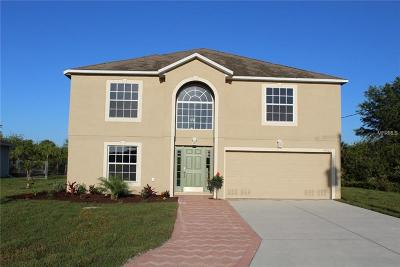 Port Charlotte Single Family Home For Sale: 9525 Nastrand Circle