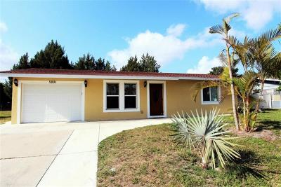 Single Family Home For Sale: 5891 Espanola Avenue