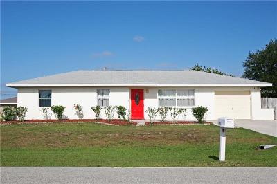Port Charlotte Single Family Home For Sale: 473 Theresa Boulevard