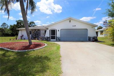 Charlotte County Single Family Home For Sale: 1235 Stamford Street