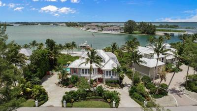 Boca Grande, Placida Single Family Home For Sale: 9850 NW Gasparilla Pass Boulevard