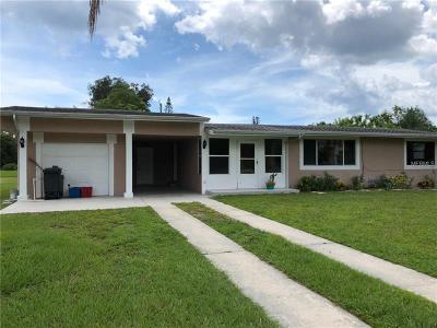 Single Family Home For Sale: 2440 Manasota Beach Road