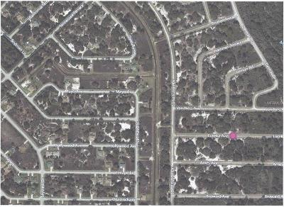 North Port Residential Lots & Land For Sale: 0 Eureka Avenue