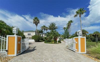 Englewood Single Family Home For Sale: 8240 Manasota Key Road