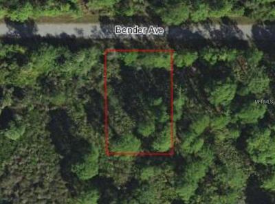 Port Charlotte Residential Lots & Land For Sale: 13473 Bender Avenue