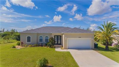 Port Charlotte Single Family Home For Sale: 15448 Lakeland Circle