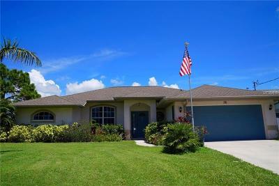 Rotonda West Single Family Home For Sale: 76 Mariner Lane