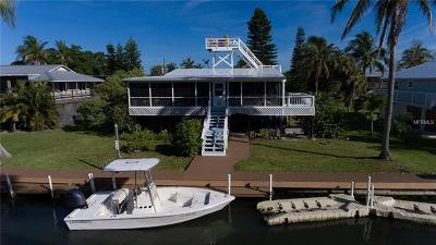 Single Family Home For Sale: 9752 Little Gasparilla Island