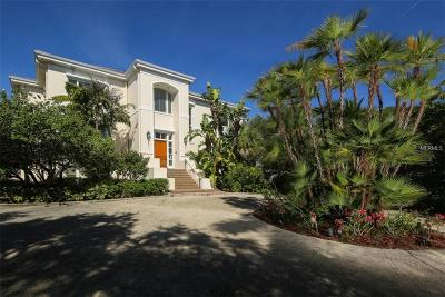 Englewood, Boca Grande Single Family Home For Sale: 6060 Manasota Key Road