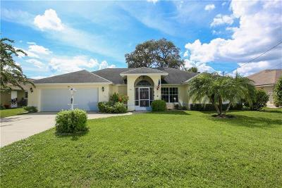 Rotonda West Single Family Home For Sale: 19 Sportsman Road