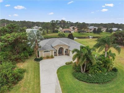 Rotonda West Single Family Home For Sale: 666 Boundary Boulevard