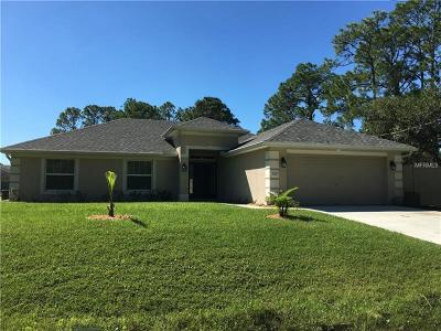 Englewood, North Port Single Family Home For Sale: 5217 Neon Avenue