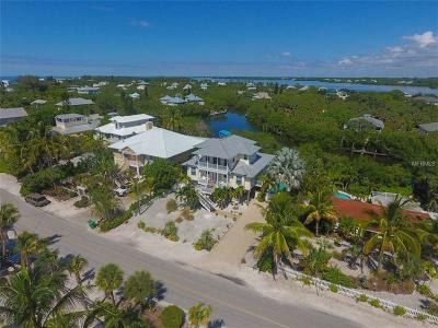 Single Family Home For Sale: 100 N Gulf Boulevard
