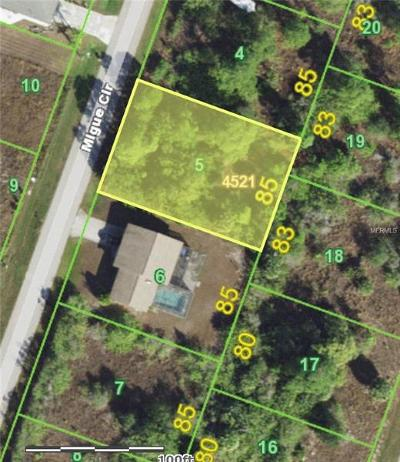 Port Charlotte Residential Lots & Land For Sale: 9211 Migue Circle