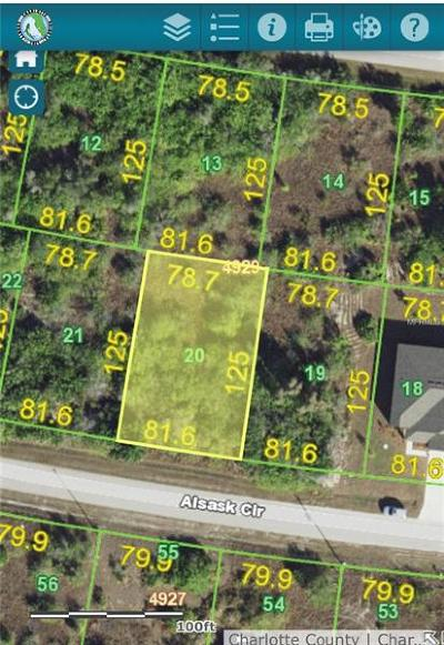 Port Charlotte Residential Lots & Land For Sale: 15397 & 15389 Alsask Circle