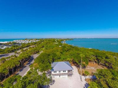 Englewood, Boca Grande Single Family Home For Sale: 21 Grouper Hole Drive