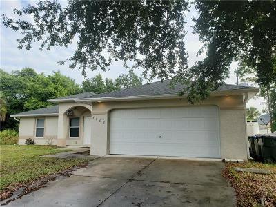 North Port Single Family Home For Sale: 7362 Ramber Avenue