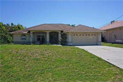 North Port Single Family Home For Sale: 12117 Genoa Street