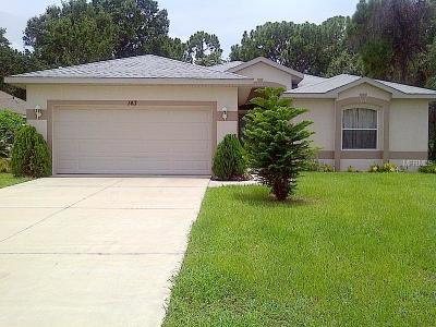 Rotonda West Single Family Home For Sale: 143 Crevalle Road