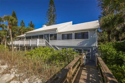 Englewood, Boca Grande Single Family Home For Sale: 6790 Manasota Key
