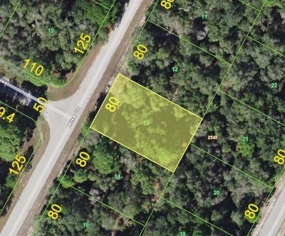 Port Charlotte Residential Lots & Land For Sale: 1228 Miliken Terrace