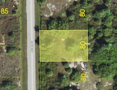 Port Charlotte Residential Lots & Land For Sale: 10194 Arcadia Street