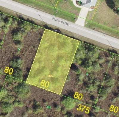 Port Charlotte Residential Lots & Land For Sale: 15281 Pottstown Avenue